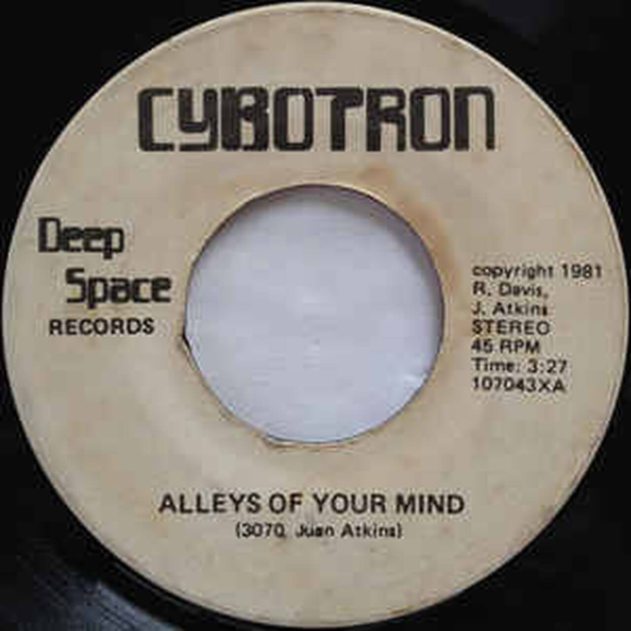 cybotron alleys of your mind CD