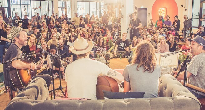 artists performing at sofar sounds
