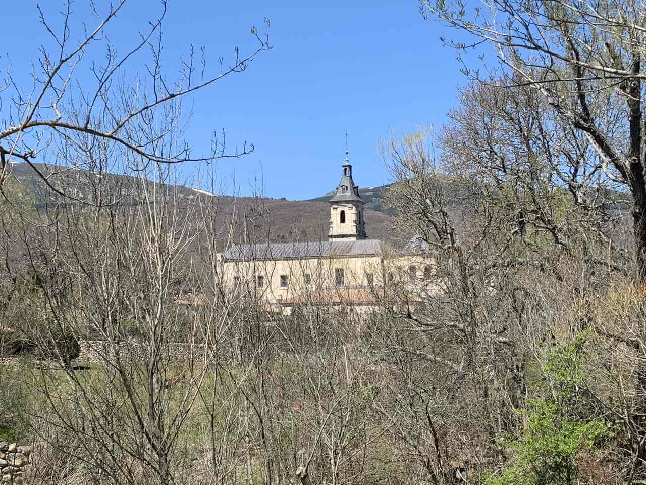 hikes in madrid - monasterio el paular