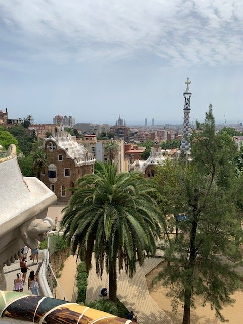 barcelona itinerary - parque guell